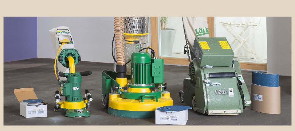 we utilise dust free sanding technology from Lagler